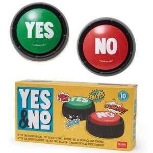 Gioco Legami Yes & No Set Due Pulsanti Sonori