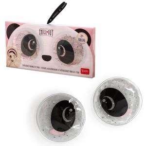 Chill Out Dischetti Occhi Legami Rinfrescanti e Riutilizzabili Panda