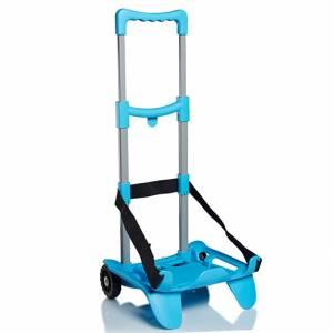 Carrello Zaino Seven Be Box Trolley Top Azzurro