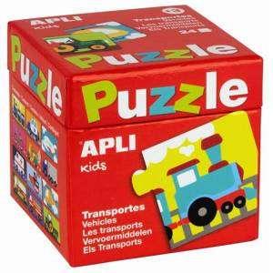 Gioco 3+ Apli Kids Puzzle 24pz I Veicoli