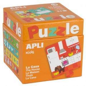 Gioco 3+ Apli Kids Puzzle 24pz La Casa