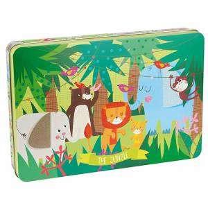 Gioco 3+ Apli Kids Puzzle 24pz The Jungle