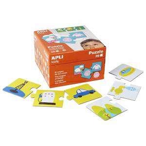 Gioco 3+ Apli Kids Puzzle 36pz Original Things