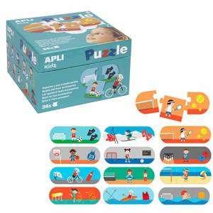 Gioco 3+ Apli Kids Puzzle 36pz Sport
