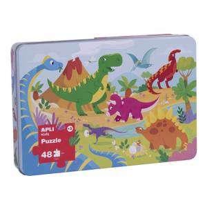 Gioco 3+ Apli Kids Puzzle 48pz Dinosauri