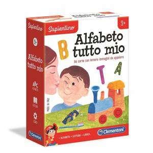 Gioco 3+ Clementoni Sapientino Alfabeto tutto Mio