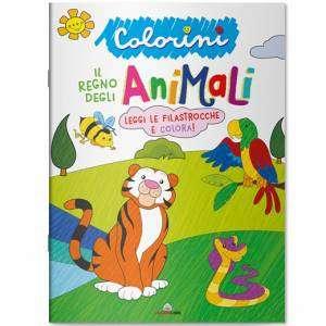 Album da Colorare Lisciani Il Regno degli Animali