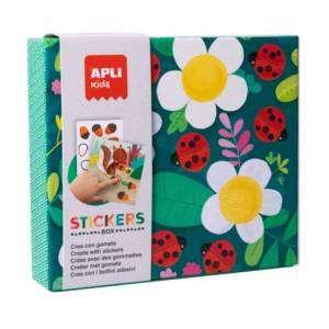 Stickers 3+ Apli Kids Box Mariquita