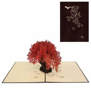 Biglietto 3D Bonsai 13x18cm