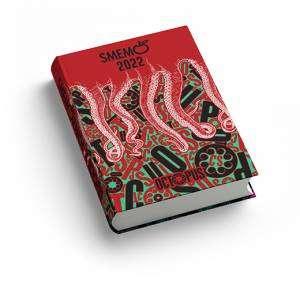 2021-2022 Smemoranda 13x17,7cm Size L Special Edition Octopus Red
