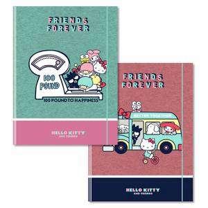 Cartella c/Elastico 26x33x1cm Hello Kitty Friend Forever