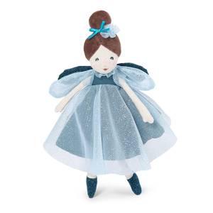 Bambola Moulin Roty Il Était une Fois 30cm Fatina Blu