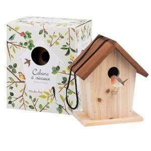 Casetta per Uccellini 18x17x22cm Moulin Roty Le Jardin