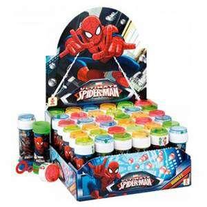 Bolle Sapone 60ml Spiderman