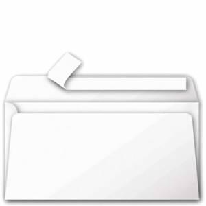 BUSTA 11x22cm CLAIREFONTAINE POLLEN C/STRIP 20pz Bianco
