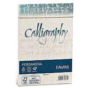 BUSTA 12x18cm FAVINI CALLIGRAPHY PERGAMENA NATURALE 25pz