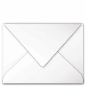 BUSTA 13,5x21cm CLAIREFONTAINE POLLEN TAGLIO PUNTA 20pz Bianco