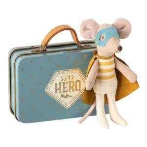 Super Hero in Suitcase Maileg