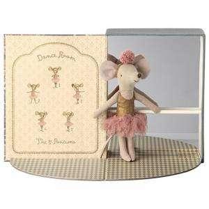 Dance Room + Big Sister Mouse 13cm Maileg