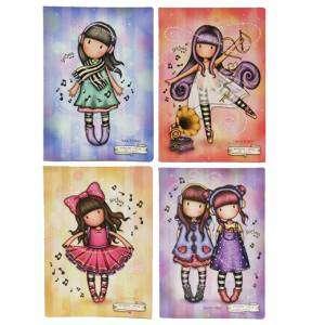 Quaderno Maxi A4_Riga C_100gr Gorjuss Pretty Melody
