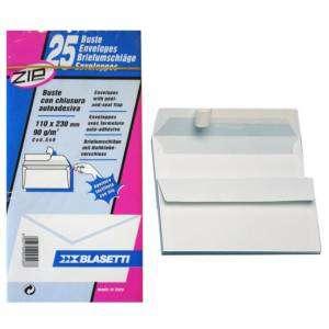 Buste 11x23cm S/Finestra 25pz