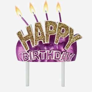 Candelina Happy Birthday Legami