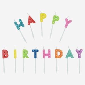Candeline Happy Birthday Legami