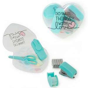 Mini Stationery Legami Heart Set 6pz