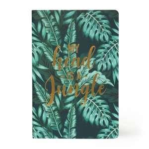 Quaderno 15x21cm  80pag Legami Righe Stars Jungle