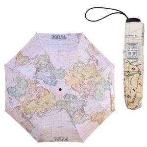 Ombrello Pieghevole Legami Map