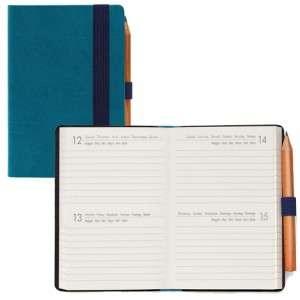 2022 Agenda Giorn.  9,5x13,5cm Legami Mini Bi-Giornaliera Petrol Blue