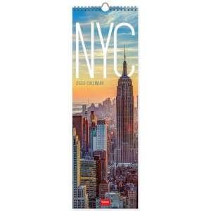 2022 Calendario Da Muro 16x49cm Legami New York
