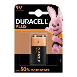 Pila 9V Duracell Plus 1pz