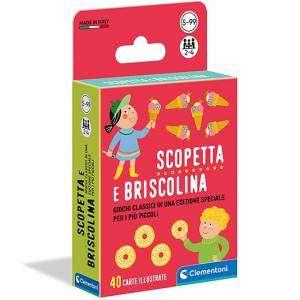 Carte Gioco Clementoni 5-99+ Scopetta e Briscolina
