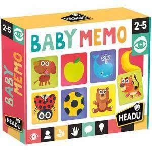 Gioco 2-5+ Headu Baby Memo