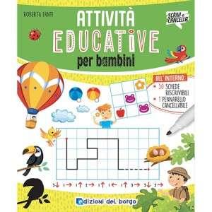 Attività Educative per bambini Edizioni del Borgo Scrivi e Cancella