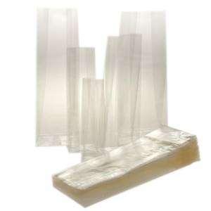 Busta PPL Trasparente c/Soffietto Fondo Quadro  6+5x20cm 50pz
