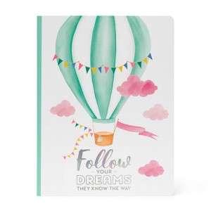 Quaderno 19x25cm  80pag Legami Air Balloon Righe