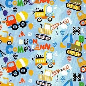 Carta Regalo 70x100cm Bambini Ruspe e Camion