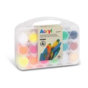 Colori Acrilici CMP 25ml X 18 Colori Fini Valigetta