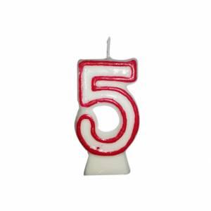Candelina Numero  5