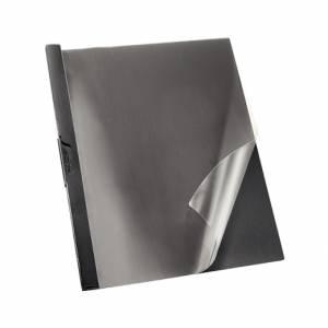CARTELLETTA IN PLASTICA CON CLIP ESSELTE DORSO 5mm NERO