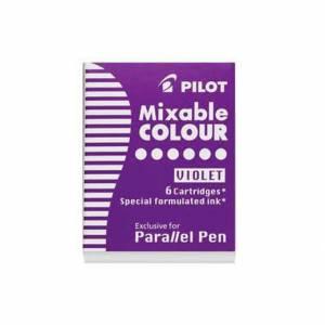 CARTUCCE PILOT PARALLEL PEN 6pz VIOLA