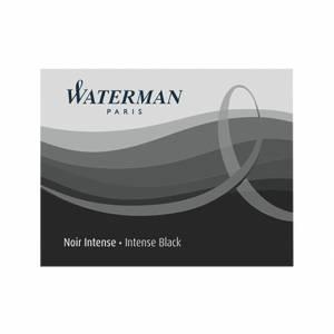 Cartucce Stilo Waterman 8pz Nero