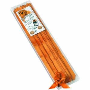 Coccarda AutoTirante Raso 15mm Arancione