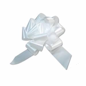 Coccarda AutoTirante PPL 48mm Bianco