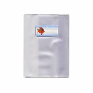 COPERTINA QUADERNO PVC-A5-TRASPARENTE GOFFRATO