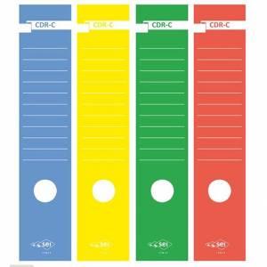 COPRIDORSO SEI IN CARTA PER RACCOGLITORE 7,5x34cm-10pz-ROSSO