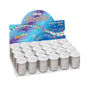 Glitter Porporina 8gr Pool Over 1pz Argento