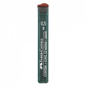 Mine 0.5mm Faber Castell 12pz Grafite B